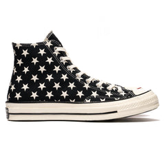 Converse Chuck Taylor All Star Canvas 1970s Hi Black/White/Egret, Footwear