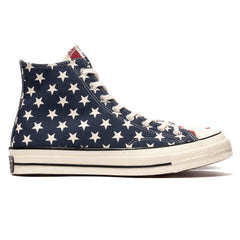 Converse Chuck Taylor All Star Canvas 1970s Hi Navy/Garnet/Egret, Footwear