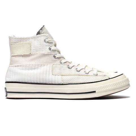 Converse Chuck Taylor All Star Hi 1970 Mono Patch White/Egret/Black, Footwear