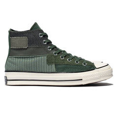 Converse Chuck Taylor All Star Hi 1970 Mono Patch Black Forest/Egret/Black, Footwear