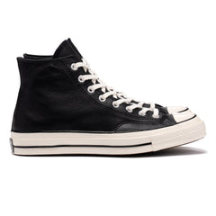 Converse Chuck Taylor All Star Leather 1970s Hi Black, Footwear