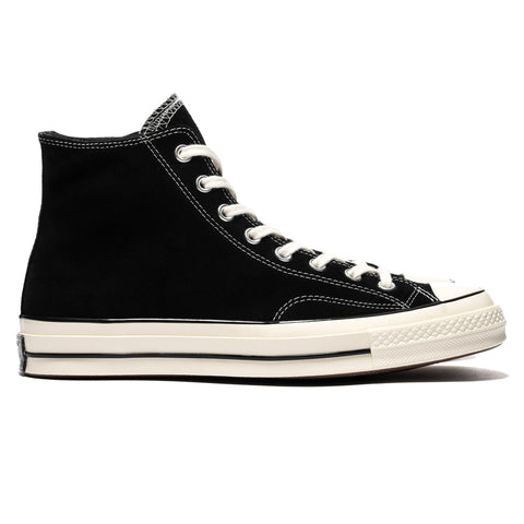 Converse Chuck Taylor All Star Suede 1970s Hi Black, Footwear