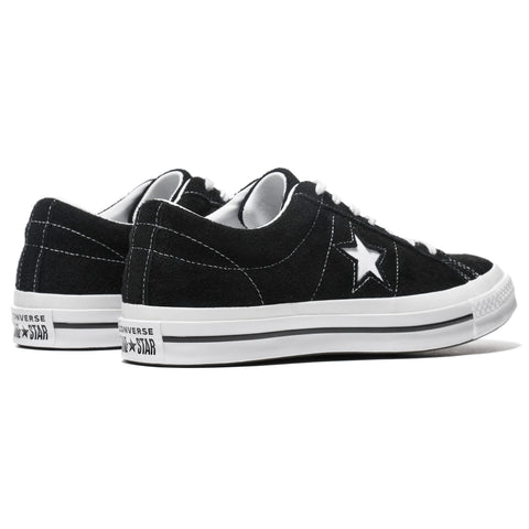 Converse One Star Ox Black/White, Footwear