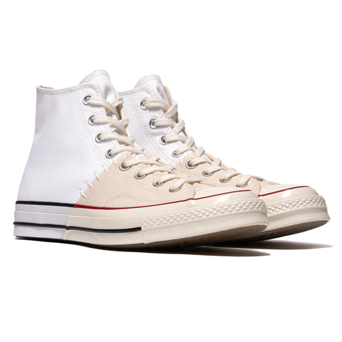 b32f02bbbfd5 ... Footwear Converse Restructured Chuck 70 Hi White Egret