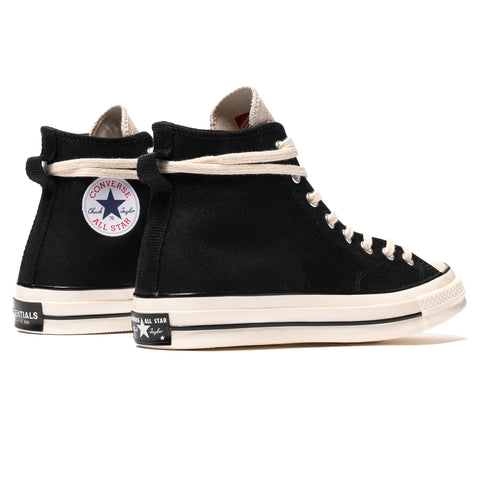 Converse x Fear Of God Essential Chuck Taylor All Star 1970s Hi Black/Egret/Natural, Footwear