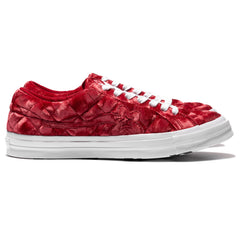 Converse x Golf Le Fleur One Star Ox Barbados Cherry/White, Footwear