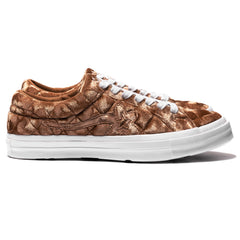 Converse x Golf Le Fleur One Star Ox Brown Sugar/White, Footwear