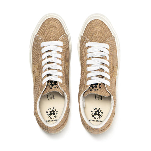 Converse x Golf Le Fleur One Star Ox Curry/Curry, Footwear