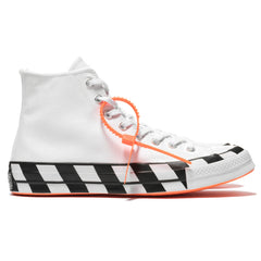 converse x Off White The Ten Chuck 70 Hi White/Cone/Black