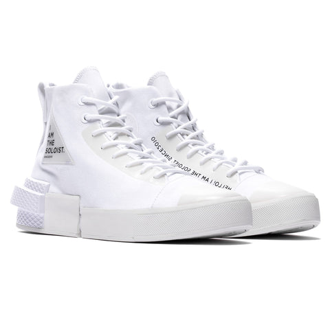 Converse x TAKAHIROMIYASHITA TheSoloist. All Star Disrupt CX Hi White, Footwear