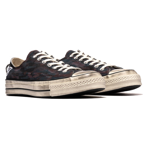 Converse x Undercover Chuck 70 Ox Black/White/Egret, Footwear