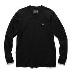 HAVEN HEX L/S T-Shirt - Cotton Jersey Black, T-Shirts