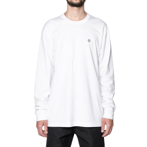 HAVEN HEX L/S T-Shirt - Cotton Jersey White, T-Shirts