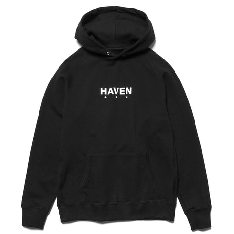 HAVEN Core Logo - Pullover Hoodie Black, Sweaters