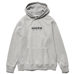 HAVEN Core Logo - Pullover Hoodie Gray, Sweaters