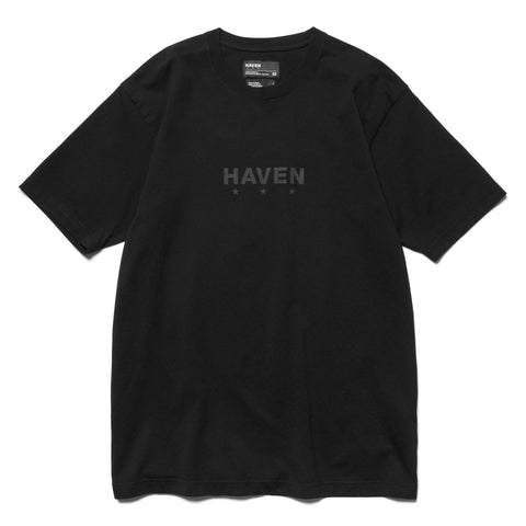 HAVEN Core Logo - T-Shirt Black/Black, T-Shirts