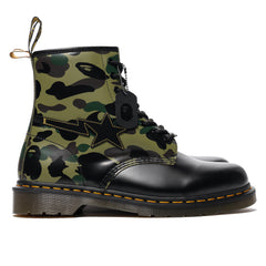 Dr. Martens x A Bathing Ape 1460 Zip & Eye Boot BAPE Camo, Footwear