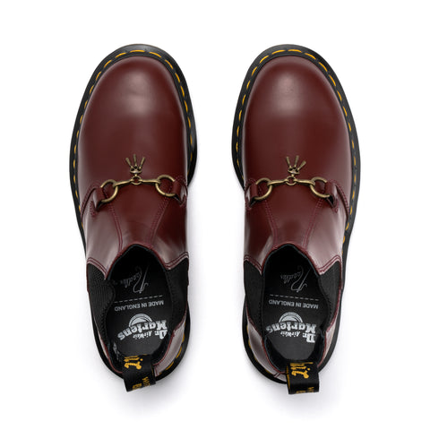 Dr. Martens x Needles 2976 Snaffle Chelsea Boots Cherry Red, Footwear