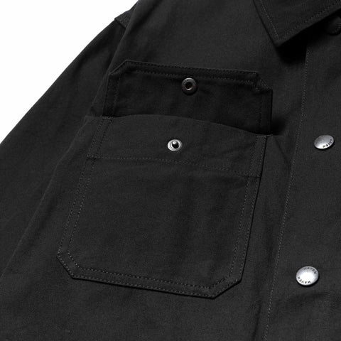 HAVEN Engineer Coat - Cotton Canvas Cordura® Ripstop Black, Outerwear