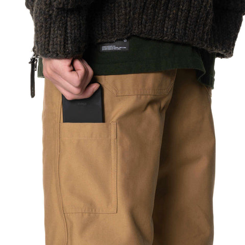 HAVEN Engineer Pants - CORDURA® Cotton Nylon Sateen Tan, Bottoms