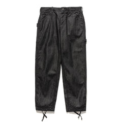 Engineered Garments 12oz Cone Denim Painter Pant Black, Bottoms