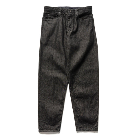 Engineered Garments 12oz Cone Denim Wide Peg Jean Black, Bottoms