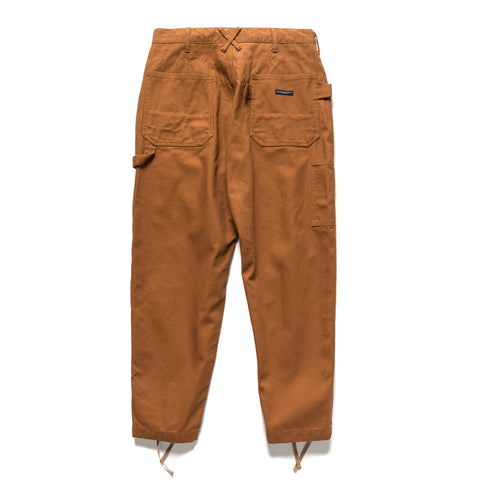 Engineered Garments 12oz Duck Canvas Painter Pant Brown, Bottoms
