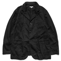 Engineered Garments 6.5oz Flat Twill Bedford Jacket Black, Jackets
