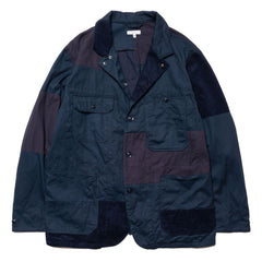 Engineered Garments 6.5oz Flat Twill Logger Jacket Navy, Jackets