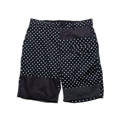 Engineered Garments Big Polka Dot Broadcloth Ghurka Short Dk. Navy, Shorts