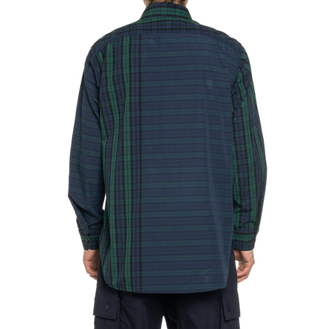 Engineered Garments Big Repeat Madras Work Shirt Blackwatch, Tops
