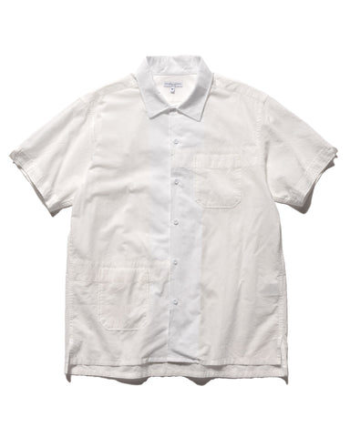 Engineered Garments Camp Shirt Cotton Lawn White, Shirts