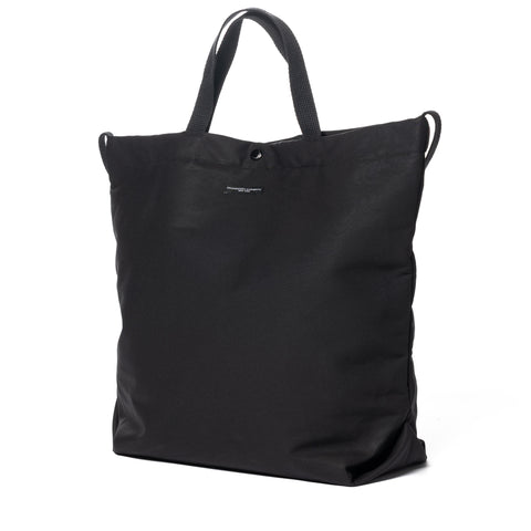 Engineered Garments Cotton Double Cloth Carry All Tote Black, Accessories