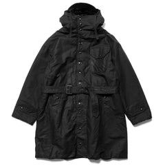 Engineered Garments Cotton Double Cloth Coastline Parka Black, Outerwear