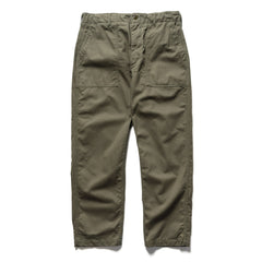 Engineered Garments Cotton Herringbone Fatigue Pant Olive, Bottoms