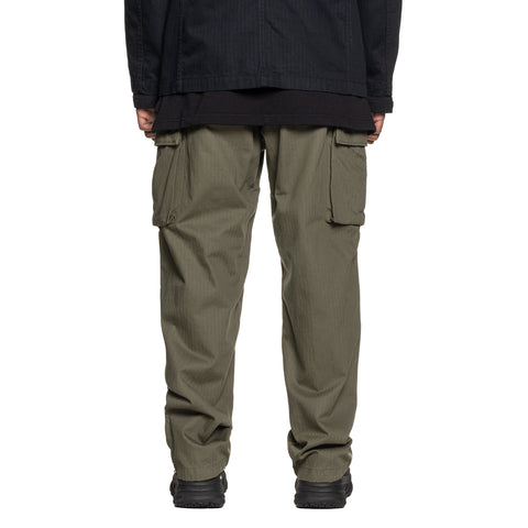 Engineered Garments Cotton Herringbone Twill FA Pant Olive, Bottoms