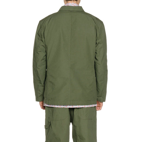 Engineered Garments Cotton Ripstop Bedford Jacket Olive, Outerwear