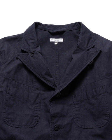 Engineered Garments Cotton Ripstop Bedford Jacket Navy, Outerwear
