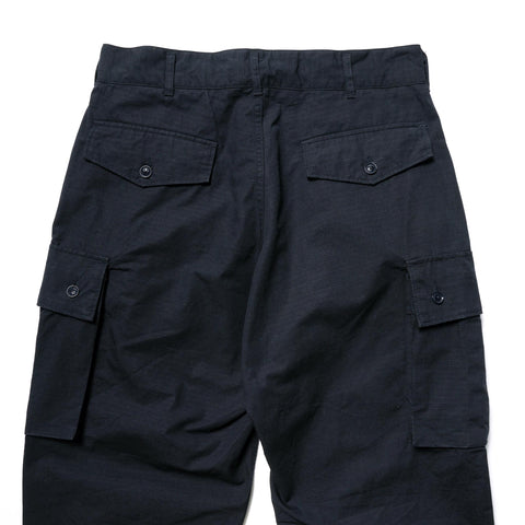 Engineered Garments Cotton Ripstop FA Pant Dark Navy, Bottoms