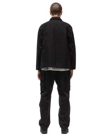 Engineered Garments Cotton Ripstop M43/2 Shirt Jacket Black, Outerwear
