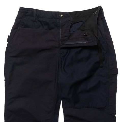 Engineered Garments Double Cloth Cotton Painter Pant Navy, Bottoms
