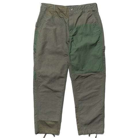 Engineered Garments Double Cloth Cotton Painter Pant Olive, Bottoms