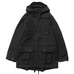 Engineered Garments Field Parka Cotton Double Cloth Black