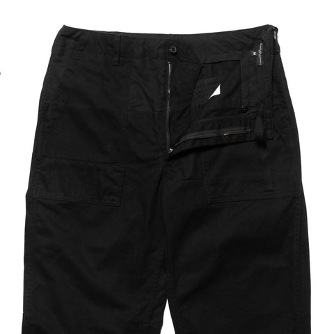 Engineered Garments Heavy Twill Cotton Fatigue Pant Black, Bottoms