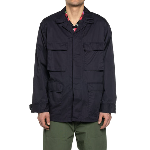 Engineered Garments High Count Twill BDU Jacket Dark Navy, Outerwear