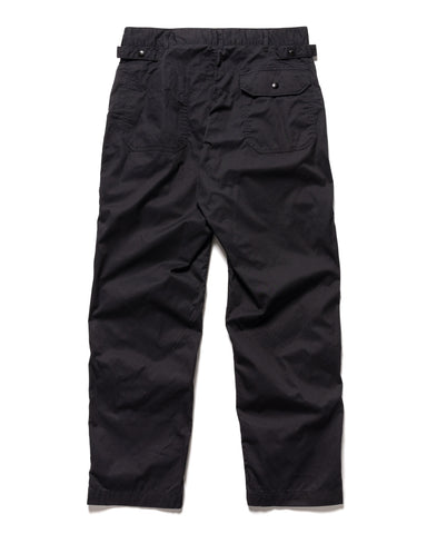 Engineered Garments Highcount Twill Ground Pant Black, Bottoms
