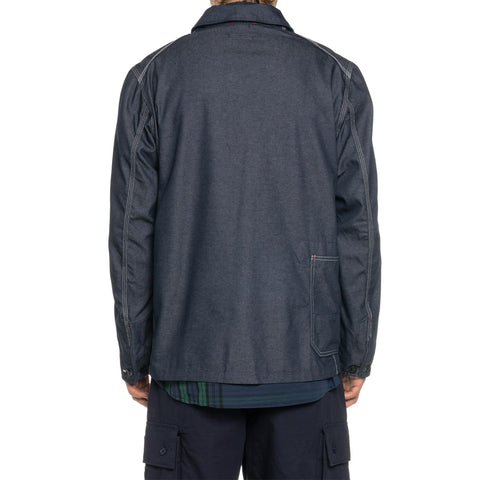 Engineered Garments PC Denim Work Jacket Indigo, Outerwear