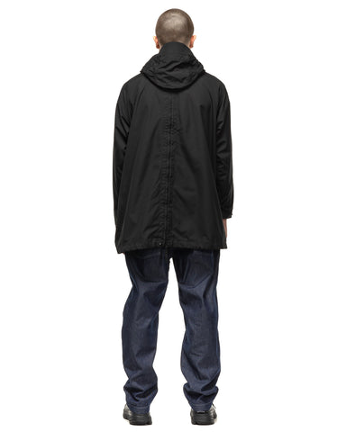 Engineered Garments PC Poplin Over Parka Black, Outerwear