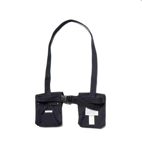 Engineered Garments PC Poplin Waist Bag Dark Navy, Accessories
