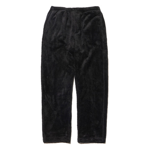 Engineered Garments Polyester Shaggy Fleece Jog Pant Black, Bottoms